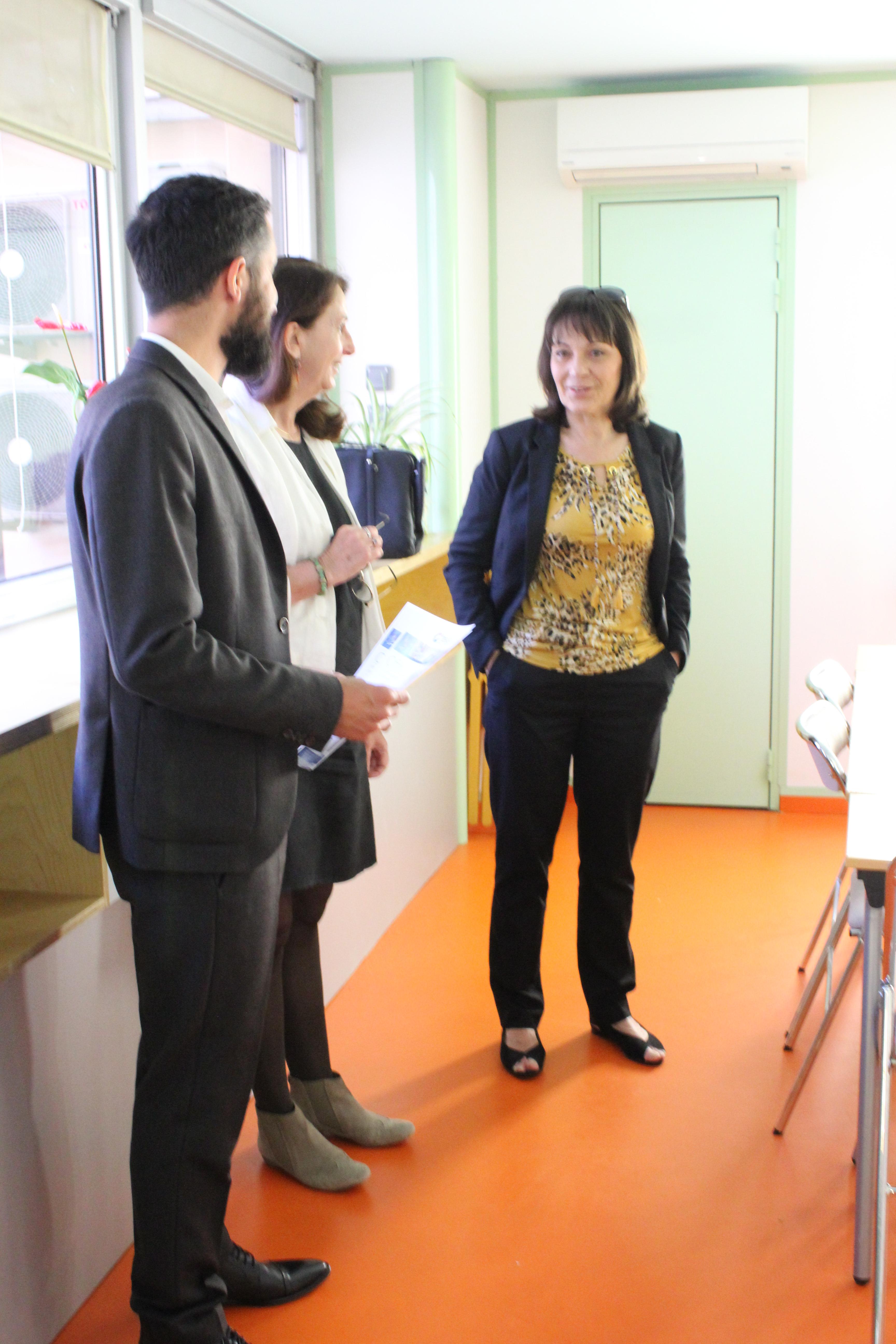 Mai 2019 – Visite de Sylvie Guillaume, députée européenne